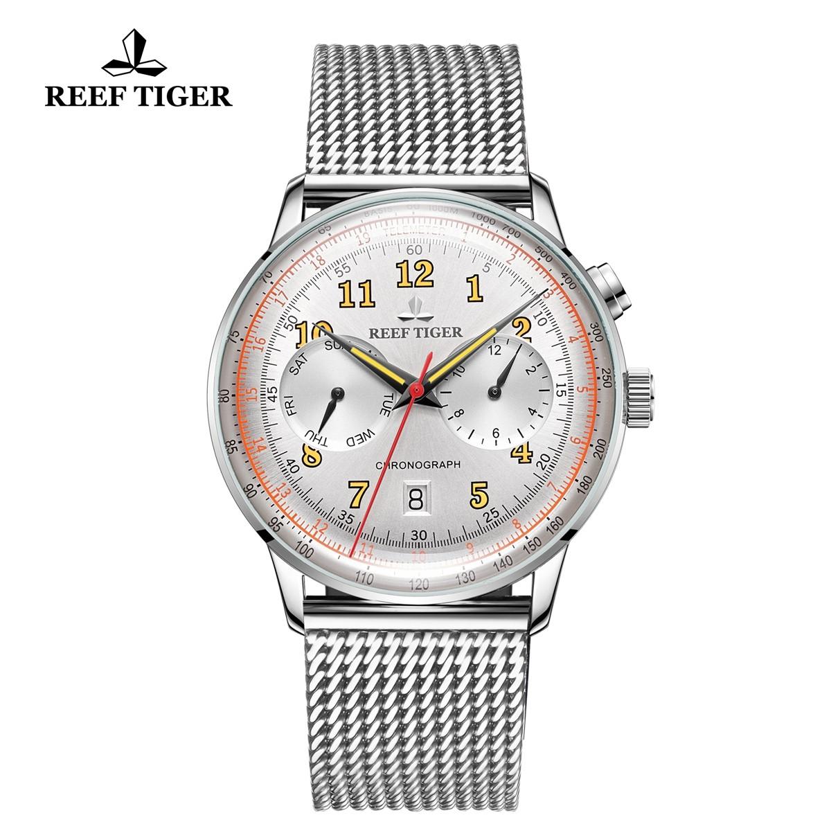 Limited Edition Respect 42mm Steel White Dial  RGA9122-YWYO